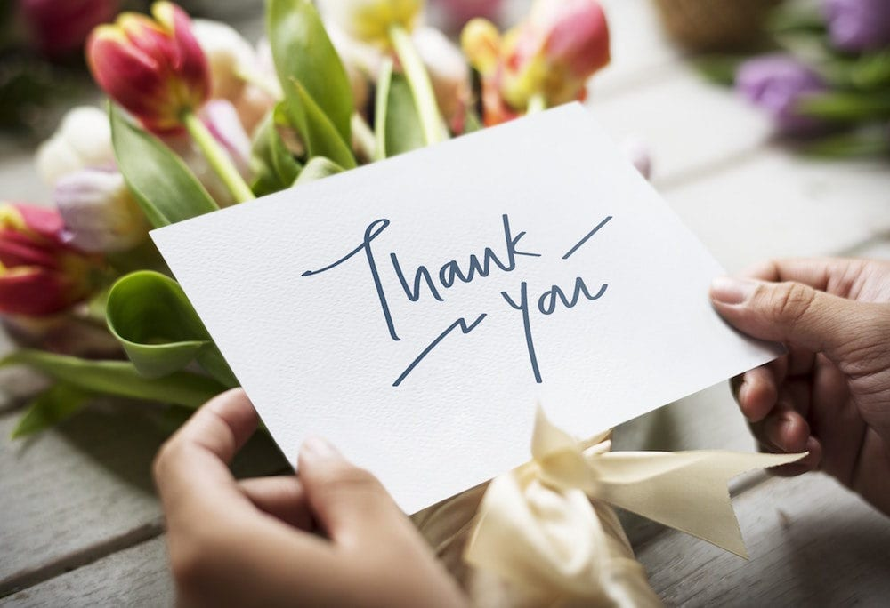 "The Simple Power of ""Thank You"""